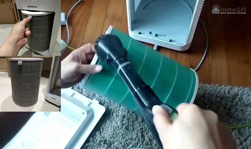 Hướng dẫn vệ sinh máy lọc không khí Nhật bãi