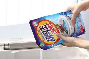 Bột vệ sinh máy giặt của Nhật