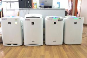 Tìm hiểu về máy lọc không khí Nhật bãi