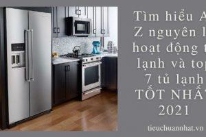 Tìm hiểu A-Z nguyên lý hoạt động tủ lạnh và top 7 tủ lạnh TỐT NHẤT 2021