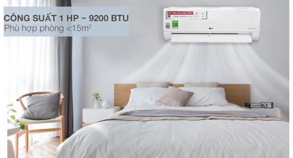 dieu-hoa-LG Inverter 1.0 HP