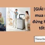 [GIẢI ĐÁP] Nên mua máy giặt đứng hay ngang tốt hơn?