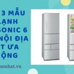 Gợi ý 4 mẫu tủ lạnh Panasonic 6 cánh nội địa Nhật ưa chuộng